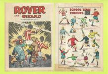 Rover Comic Olympiakos v Dunfermline Athletic Botinos February 8th 1969